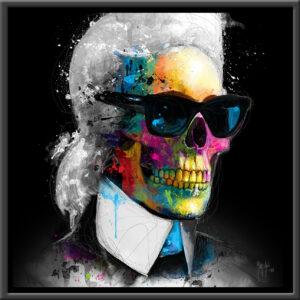 Fashion Skull - tirage unique - Patrice MURCIANO