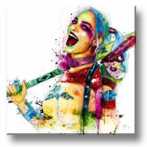 Harley Quinn - tirage unique - Patrice MURCIANO