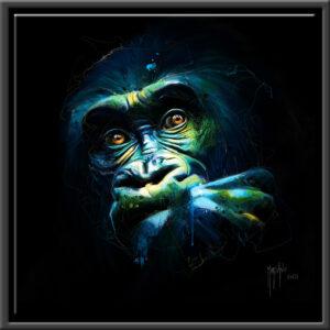 Black Kong peinture tableau Patrice MURCIANO exclusive