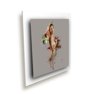 Careless Flowers blanc ice millenium - Oeuvre Patrice Murciano