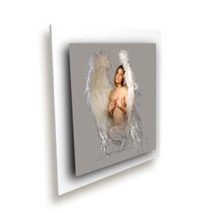 Gabrielle blanc ice millenium - Oeuvre Patrice Murciano
