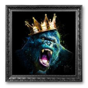 Le roi Kong - toile encadrée Patrice Murciano Prestige