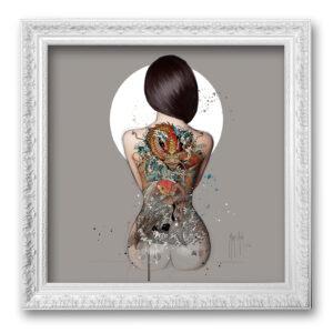 La femme tatouée - toile encadrée Patrice Murciano Prestige