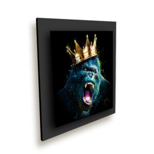 Le Roi Kong metal ice millenium noir - Patrice Murciano