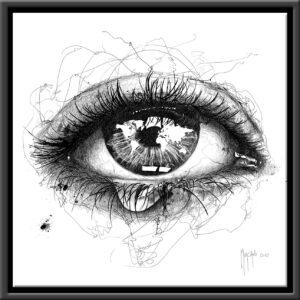 Les larmes de Gaïa - scribble - Murciano - collector one