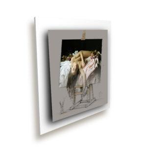 à l'ombre des couleurs ice millenium blanc - Oeuvre Patrice Murciano