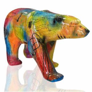 sculpture patrice Murciano Bear Pop - pièce unique