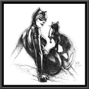 Catwoman scribble - Murciano - collector one