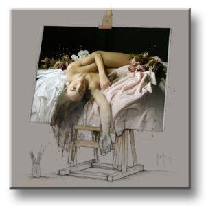 A l'ombre des couleurs - peinture tableau Patrice MURCIANO exclusive