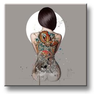 La femme tatouée - Murciano - collector one