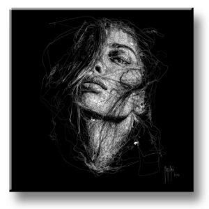 Pleasure in the darkness - scribble - Murciano - collector one
