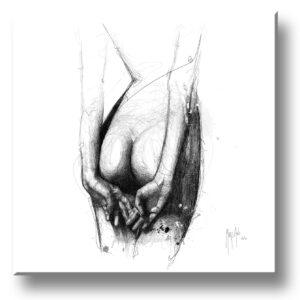 Pudeur - scribble - Murciano - collector one