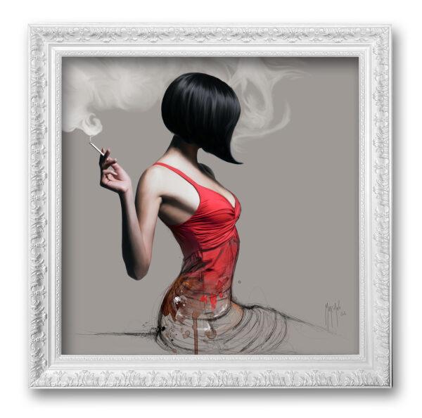 La fille en rouge - toile encadrée Patrice Murciano Prestige