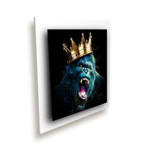 Le Roi Kong metal ice millenium blanc - Patrice Murciano