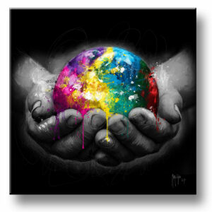 we are the world peinture tableau Patrice MURCIANO exclusive