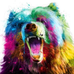 Bear Pop - Poster PREMIUM authentique de Patrice MURCIANO