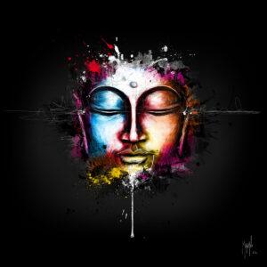 Bouddha Pop- Poster PREMIUM authentique de Patrice MURCIANO
