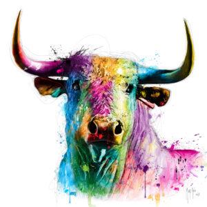 El toro - - Poster PREMIUM authentique de Patrice MURCIANO