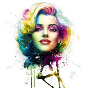 Eternal Marilyn - Poster PREMIUM authentique de Patrice MURCIANO