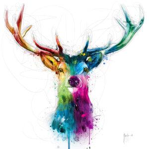 Free and Wild - Poster PREMIUM authentique de Patrice MURCIANO