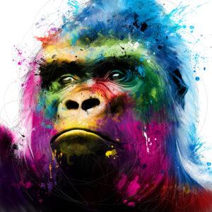 Gorilla - Poster PREMIUM authentique de Patrice MURCIANO