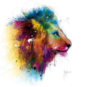 Jungle's King - Poster PREMIUM authentique de Patrice MURCIANO