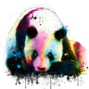 Méditation Panda - - Poster PREMIUM authentique de Patrice MURCIANO