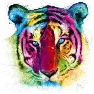 Tiger - Poster PREMIUM authentique de Patrice MURCIANO