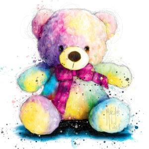 Teddy Pop - Poster PREMIUM authentique de Patrice MURCIANO