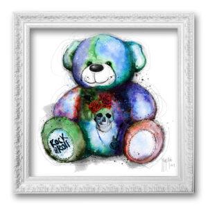 TOILE TABLEAU Teddy bear Rock - murciano tableau