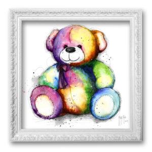 TOILE TABLEAU Teddy bear pop - murciano tableau