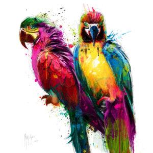 Tropical Colors - Poster PREMIUM authentique de Patrice MURCIANO