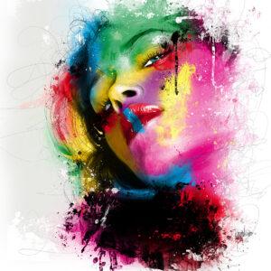 bella ragazza - Poster PREMIUM authentique de Patrice MURCIANO