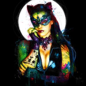 Catwoman - Poster PREMIUM authentique de Patrice MURCIANO