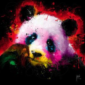 Panda Pop - Poster PREMIUM authentique de Patrice MURCIANO