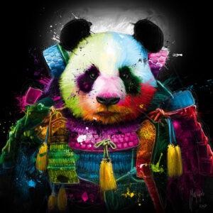 Panda Samouraï - Poster PREMIUM authentique de Patrice MURCIANO
