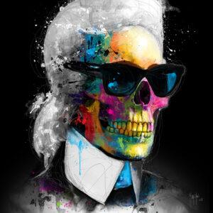 Fashion Skull-Poster PREMIUM authentique de Patrice MURCIANO