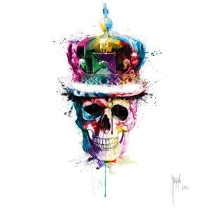 God Save The Queen-Poster PREMIUM authentique de Patrice MURCIANO