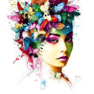 L'Effet Papillon- Poster PREMIUM authentique de Patrice MURCIANO
