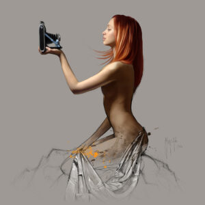 Selfie-Poster PREMIUM authentique de Patrice MURCIANO