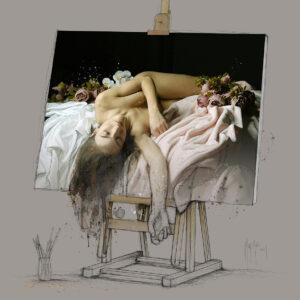 à l'ombre des couleurs- Poster PREMIUM authentique de Patrice MURCIANO