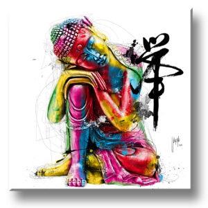 bouddha feg shui art contemporain pop art by Murciano