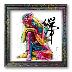 bouddha feng shui art contemporain pop art by Murciano