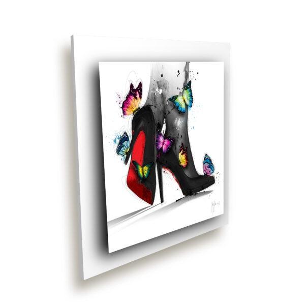 Pour elle - toile peinture - Galerie d'Art dans l'Hérault - art contemporain pop art by Murciano