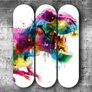 Skateboard contemporain pour décoration intérieure street Art - Galerie d'Art Montpellier