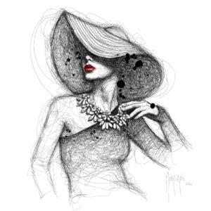 La Demoiselle De Rochefor-poster PREMIUM authentique de Patrice MURCIANOt-