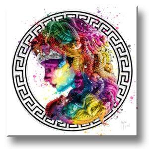 medusa art contemporain pop art by Murciano