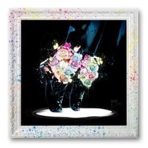 moonwalk - mickael jackson toile peinture - Galerie d'Art dans l'Hérault - art contemporain pop art by Murciano