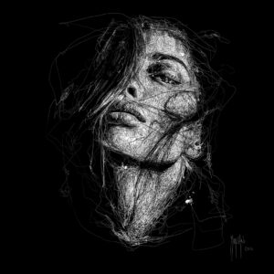 Pleasure In The Darkness-Poster PREMIUM authentique de Patrice MURCIANO