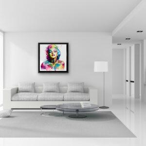 Poupoupidou - toile peinture - Galerie d'Art dans l'Hérault - art contemporain pop art by Murciano
